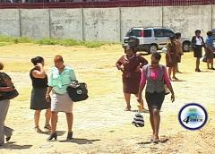 Teachers walk off the job at Micoud Secondary
